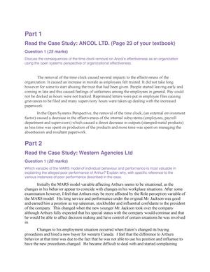case study ancol ltd