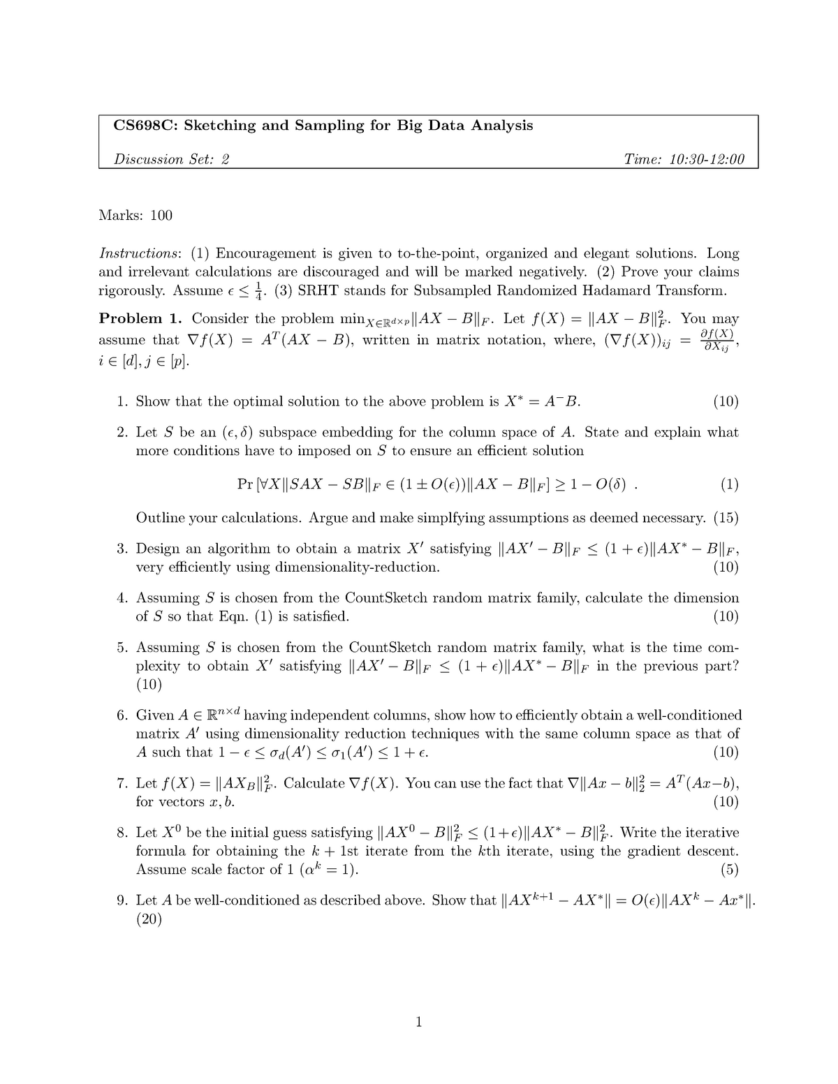 Q2 - Lecture notes L - Special Topics in Data Compression