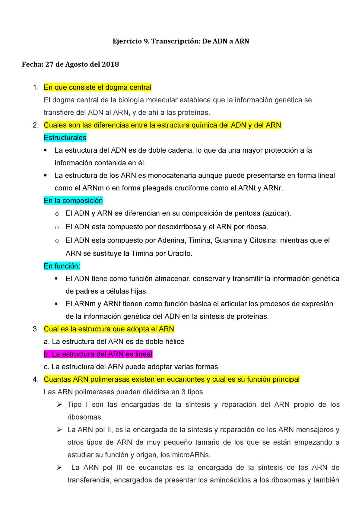 Examen De Muestra Práctica 6 Septiembre 2018 Preguntas Y