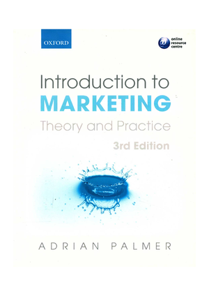 80f37c29cefb Introduction to marketing theory and practice - StuDocu