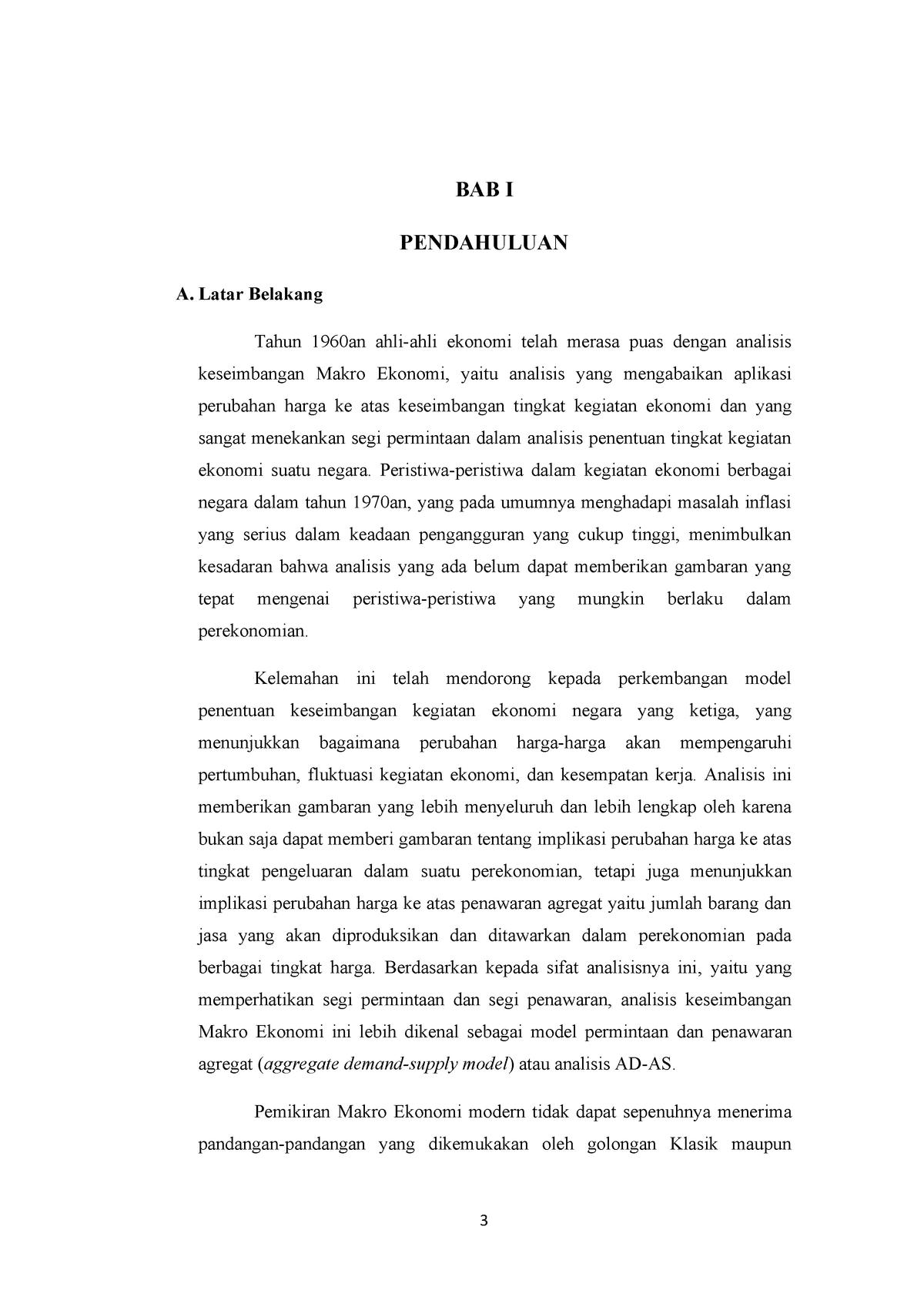 329994377 Isi Makalah Tentang Teori Penawaran Agregat Studocu
