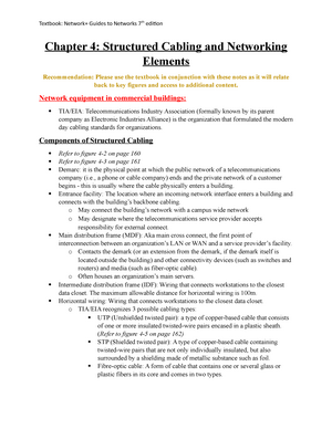 Chapter-4 - Lecture notes Lecture 4 - ITM 301: IT