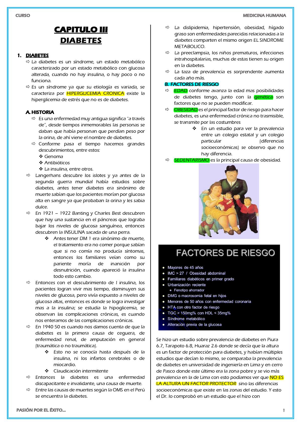 causas de diabetes por enfermedad coronaria