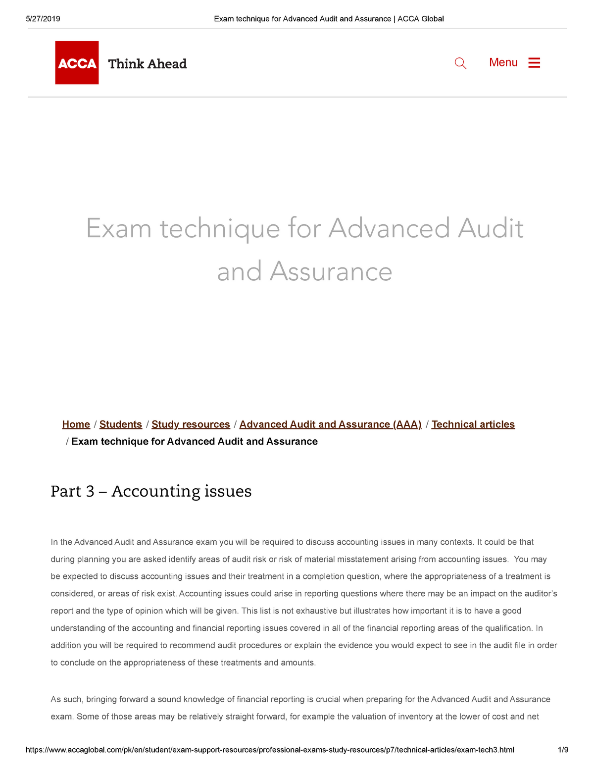 Accounting Issues - Note: A - Electronics - StuDocu