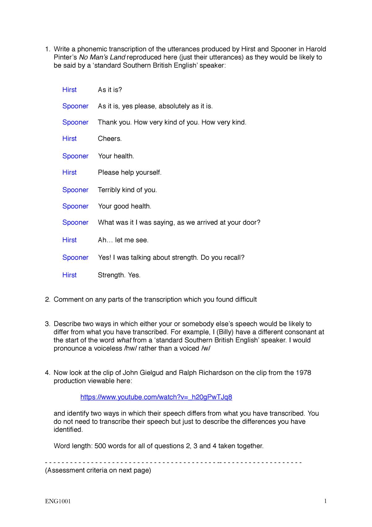Exam 2017 - english : English - StuDocu