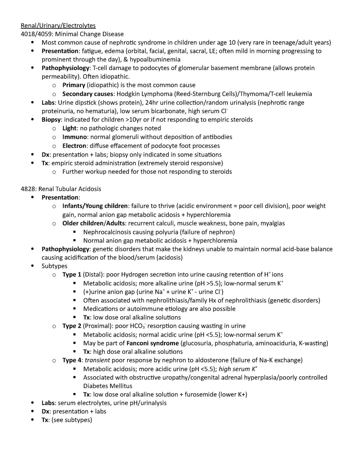 UWorld Peds 9 - MEDICINE 9503: Pediatrics Rotation - StuDocu