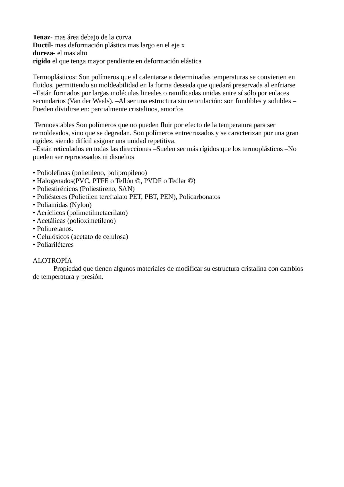 Materiales Resumen Materials I Di1010 Uji Studocu