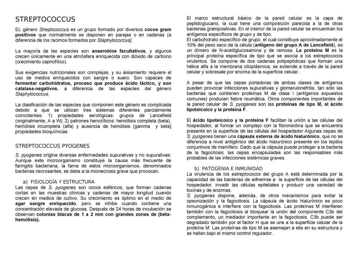 faringitis estreptocócica incubacion