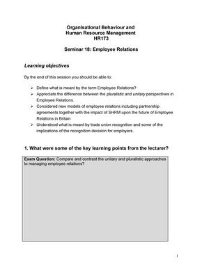 human resource approach to organisational behaviour