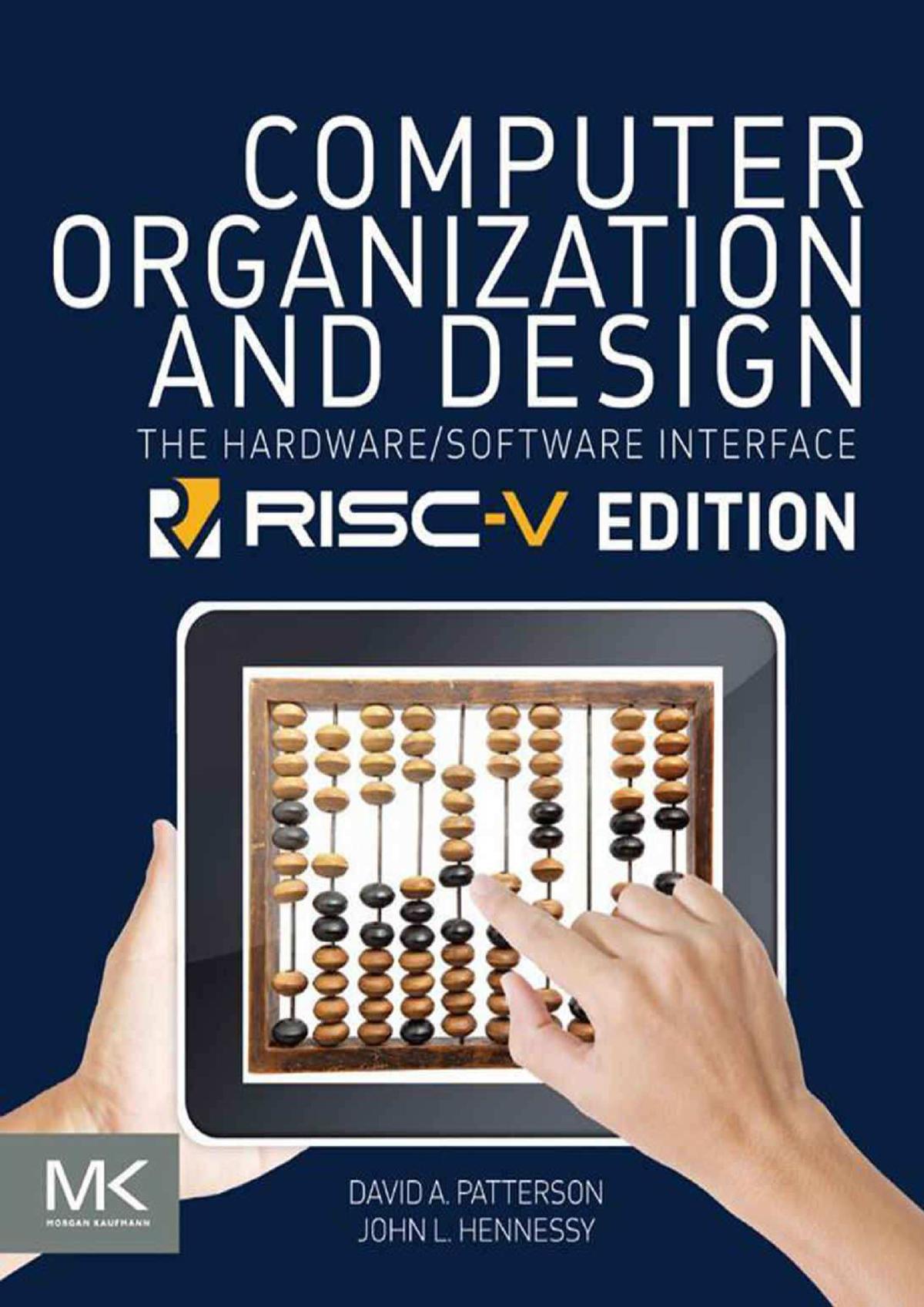 Computer Organization And Design Risc V Edition Infs 515 Studocu
