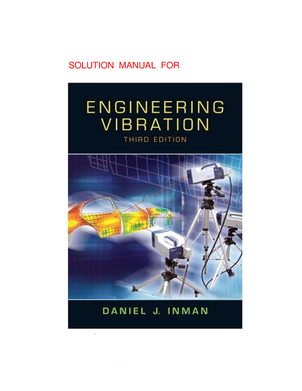 engineering vibrations by daniel j. inman free download