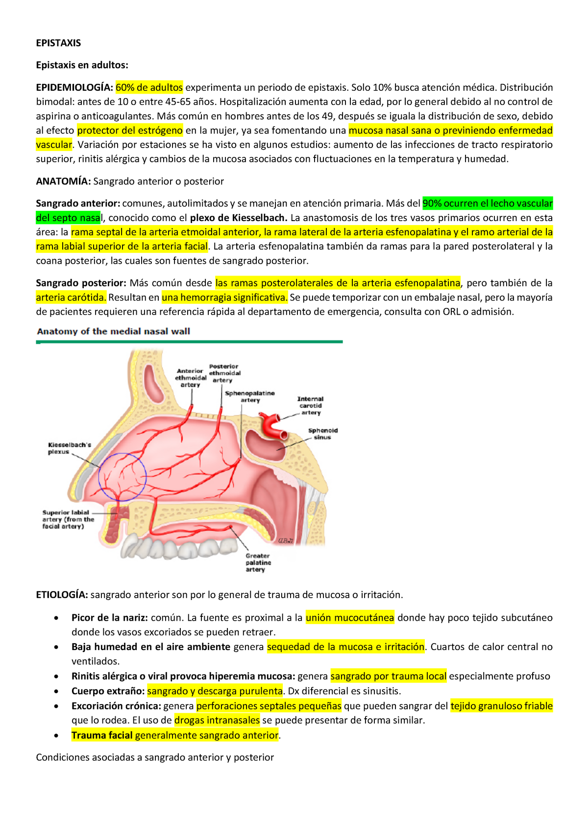 Estudios de caso hesi hipertensión benigna