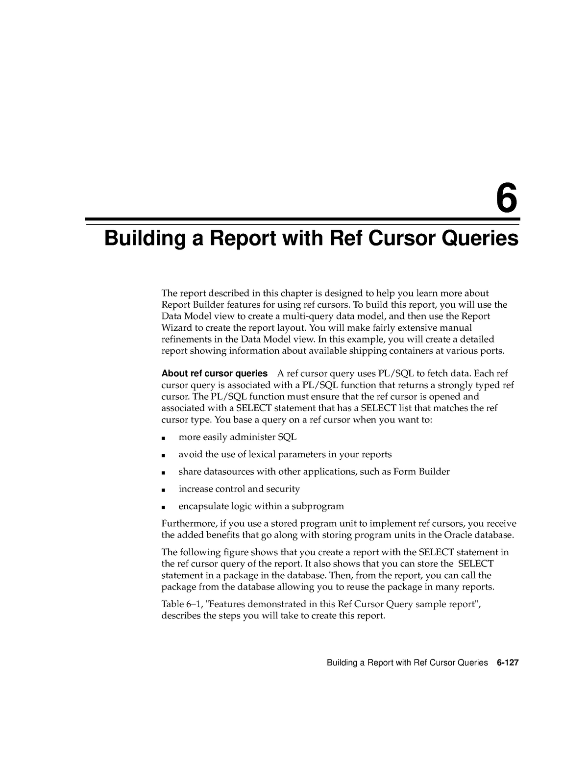 Chapter 06 - Building a Report with Ref Cursor Queries - INT