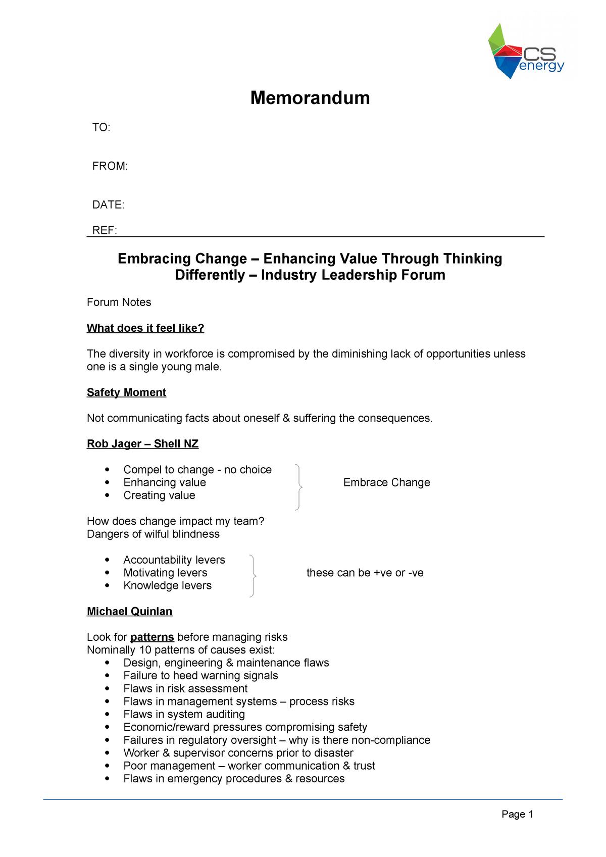 WP - Leadership Forum notes - MGMT5623 - UWA - StuDocu