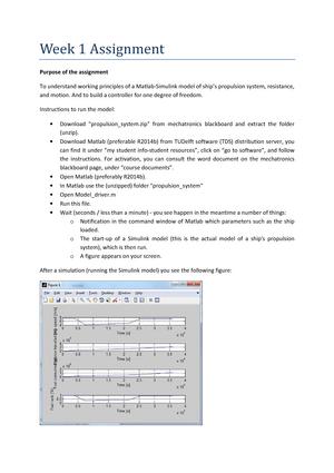 Week 1 2016 0726 Assignment 1 - MT44000: Mechatronics in MT