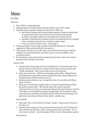 summary of platos apology
