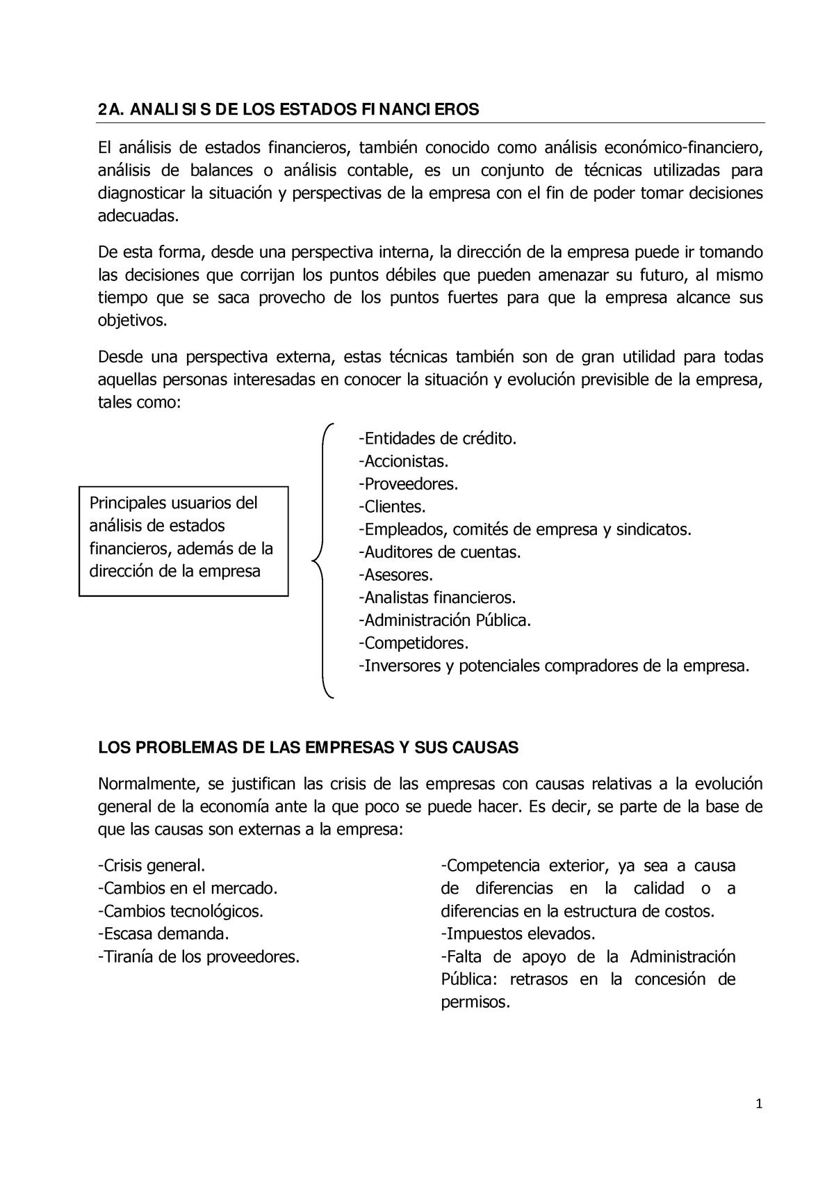 2a Analisis De Los Estados Financieros Marketing Studocu