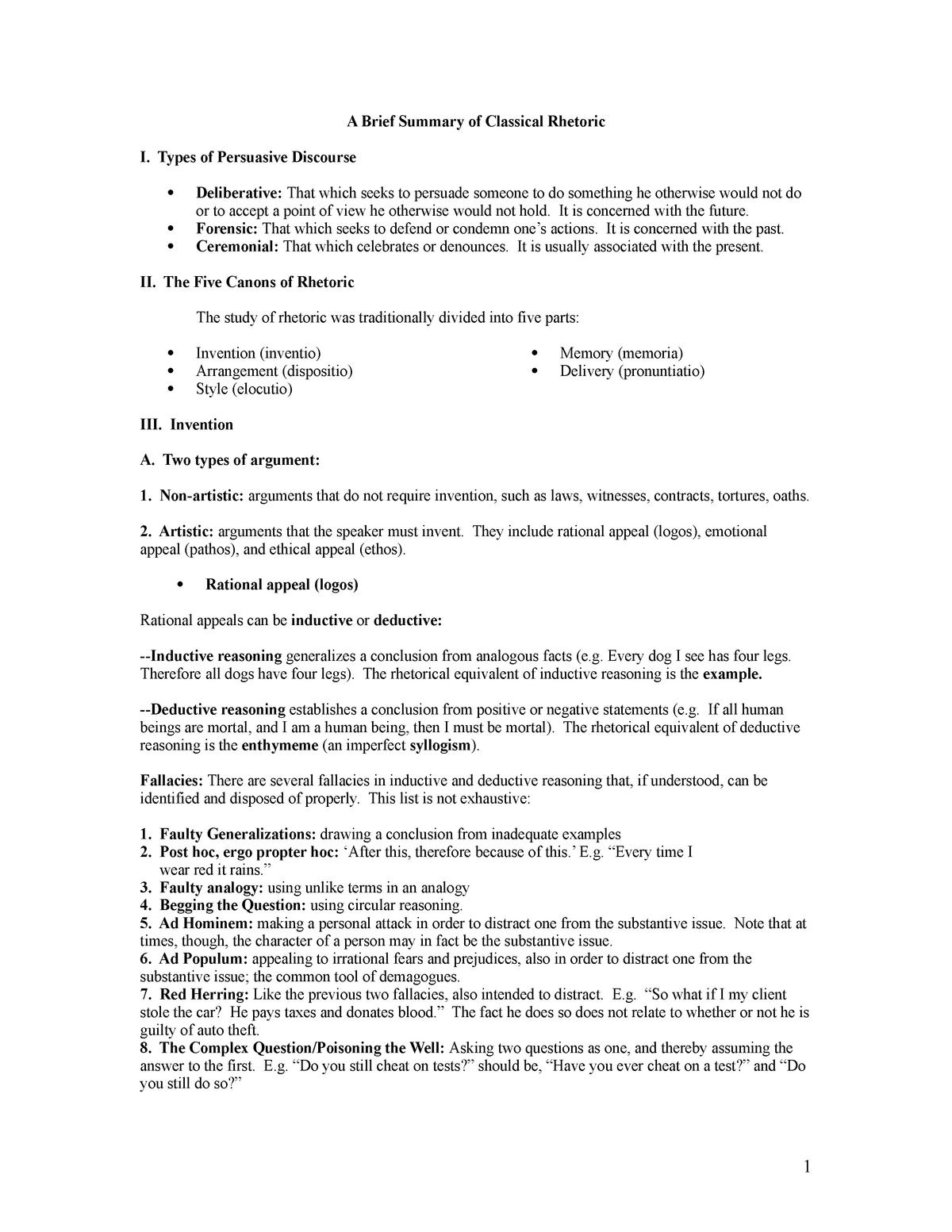 CDA Summary, rhetoric - Critical Discourse Analysis - UWE