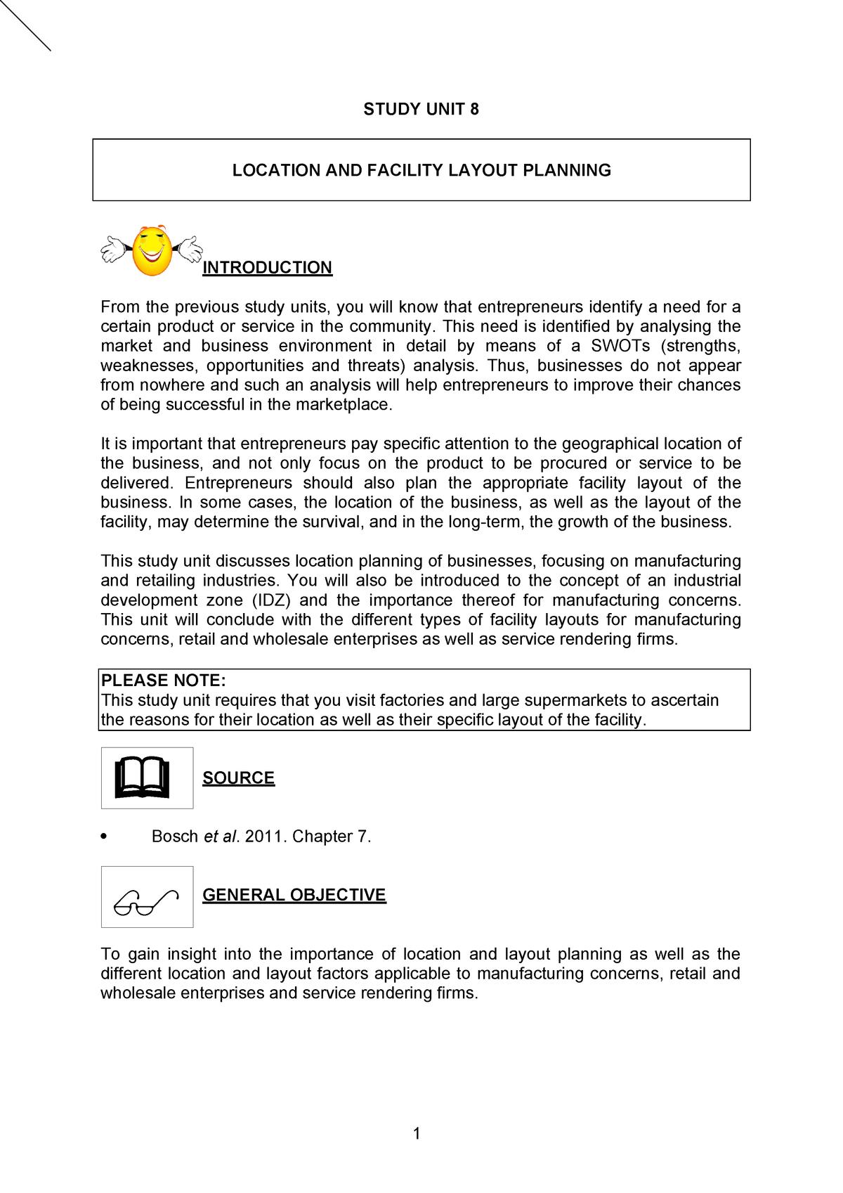 Study Guide SU8 - EB101 - StuDocu