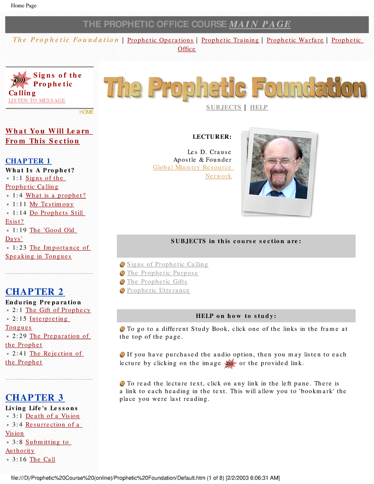 Prophetic Foundation - dfProbability and Statistics for