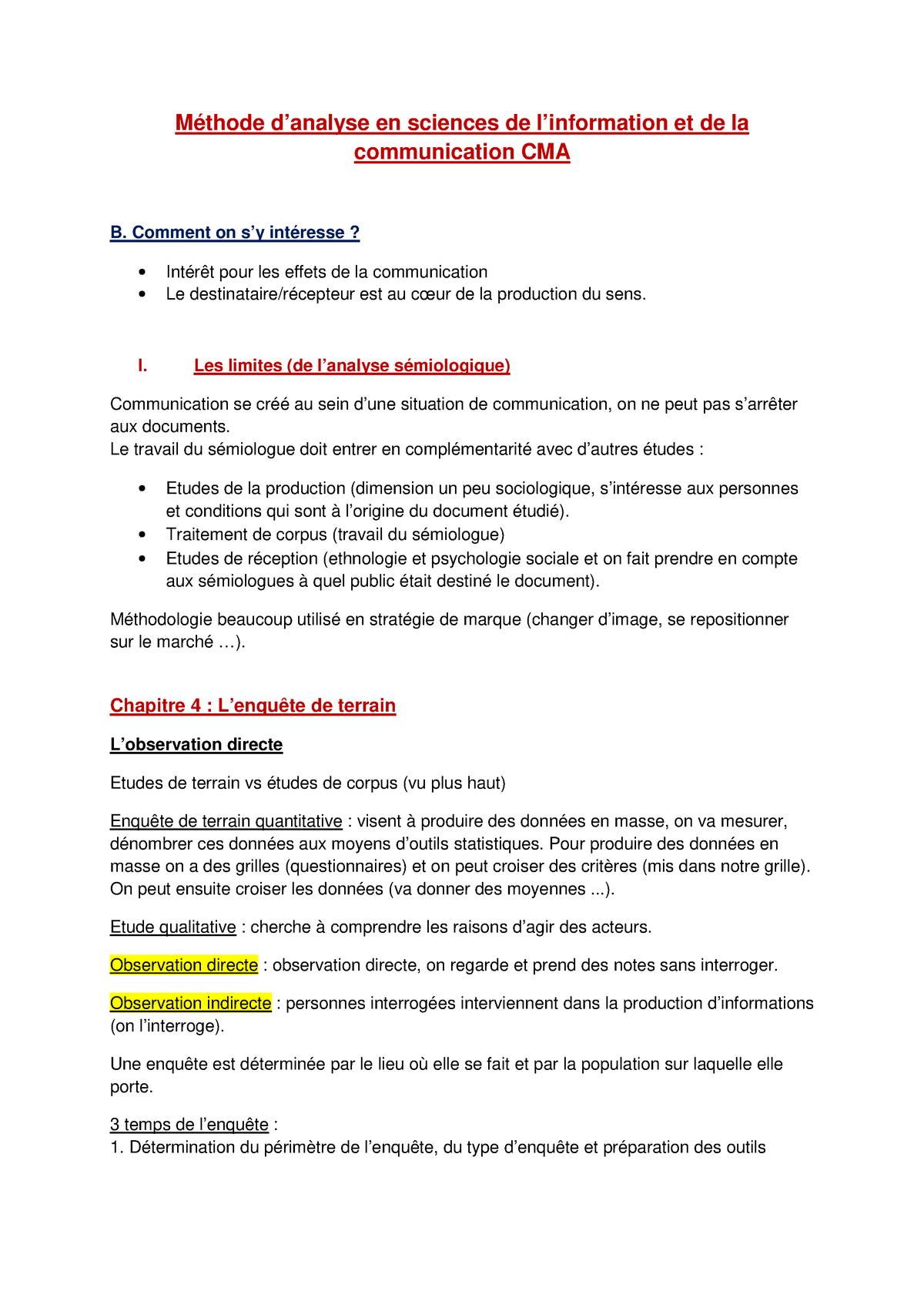 Exemple De Guide D Entretien Pour Une étude Qualitative ...