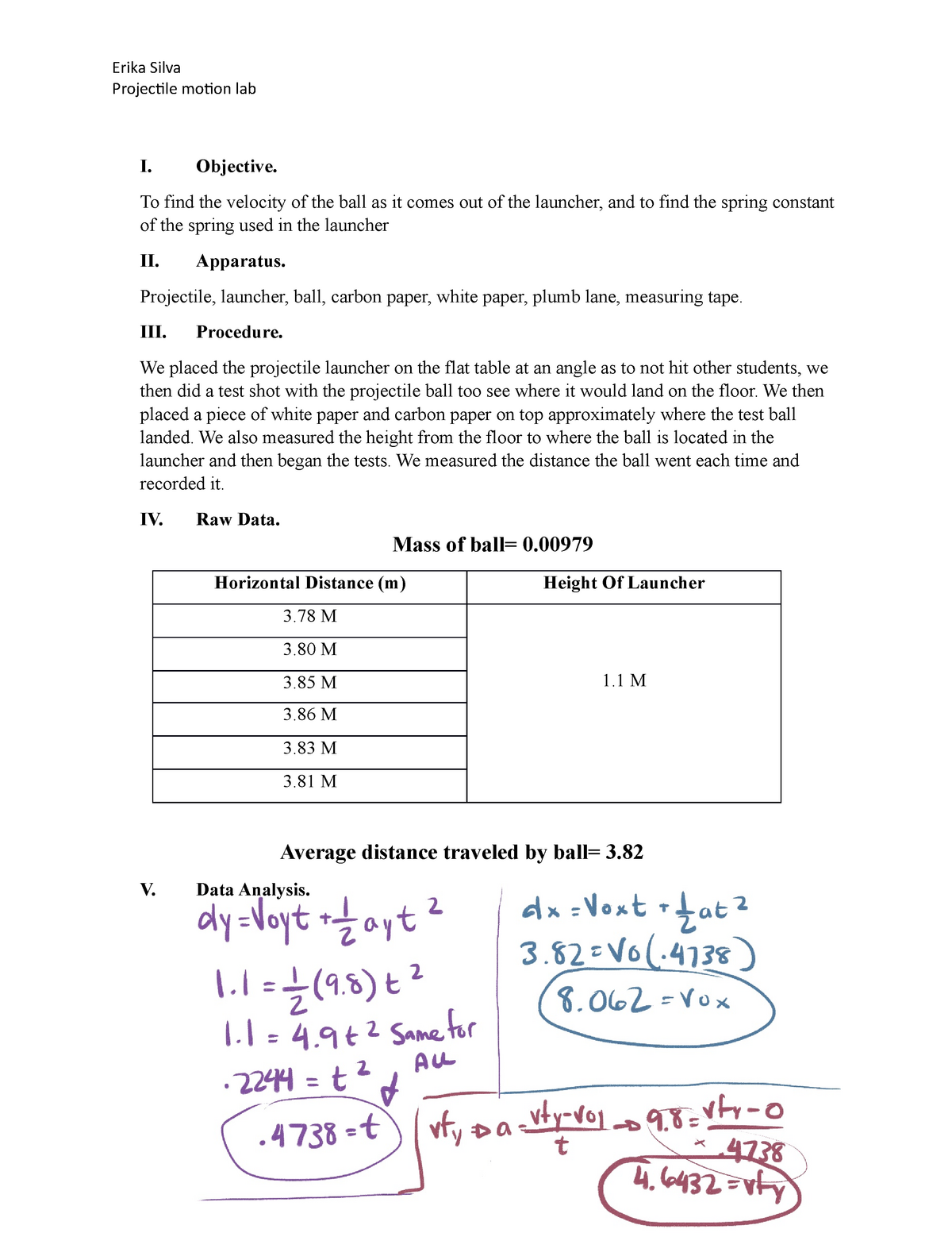 PHYlab 9 - lab assignment for PHY 101 - PHY 102: Introduction To