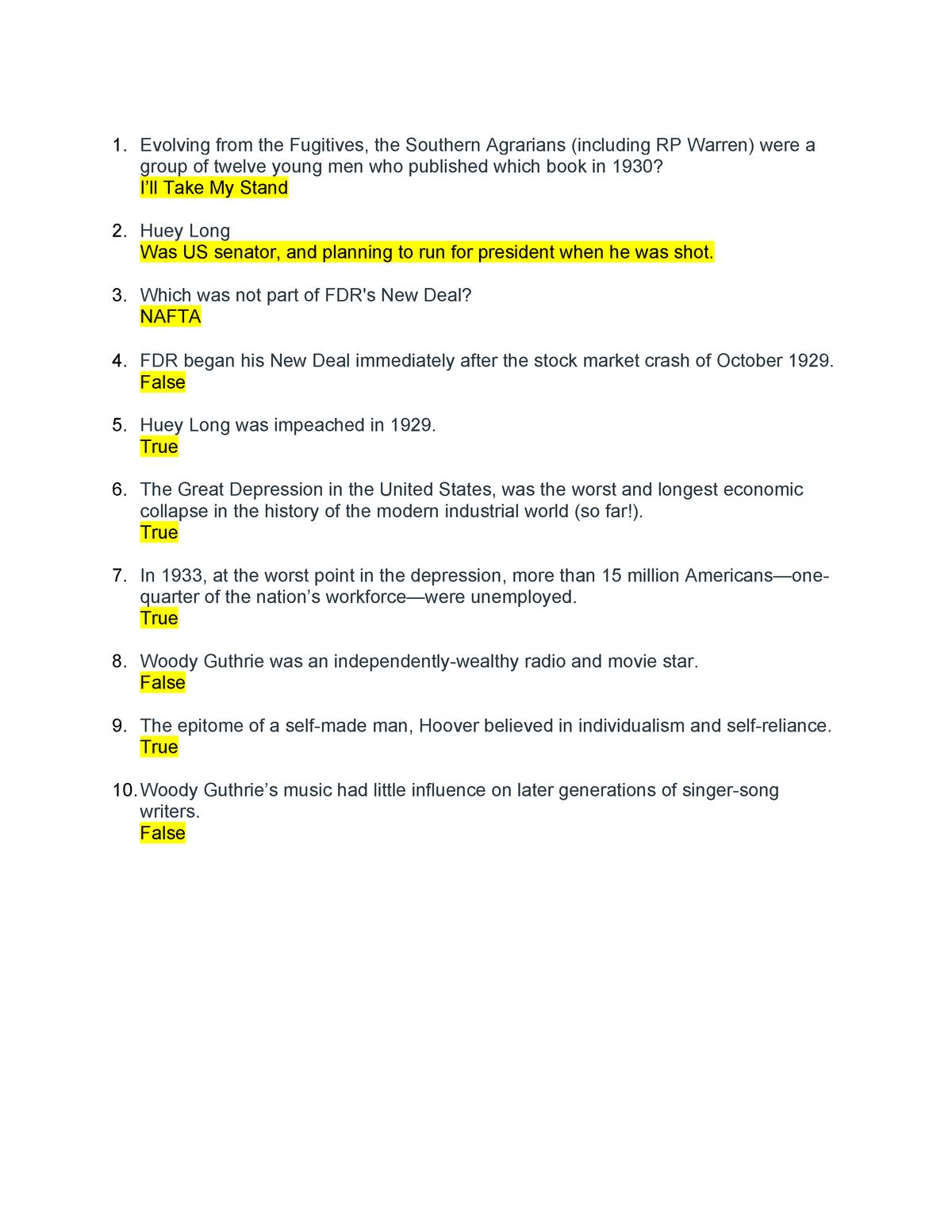 Exam 2018 - LBST 2101: Western History & Culture - StuDocu