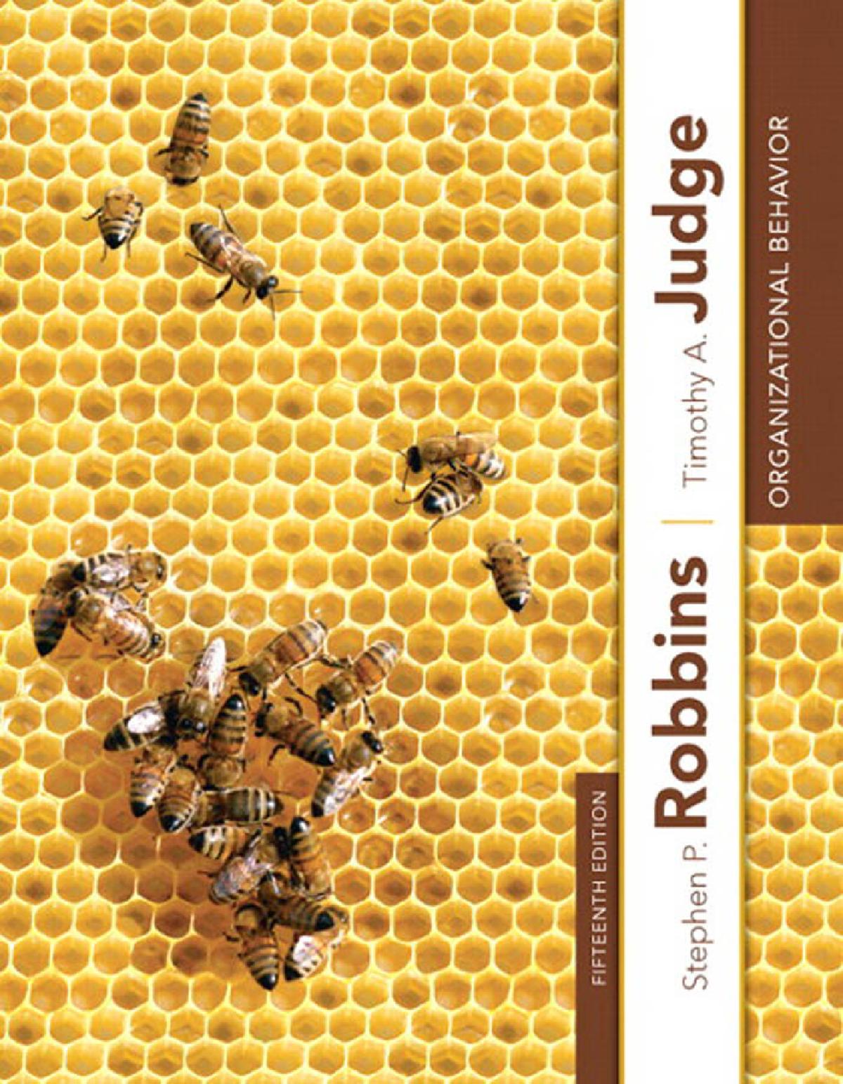 Hrm Book By Stephen P Robbins
