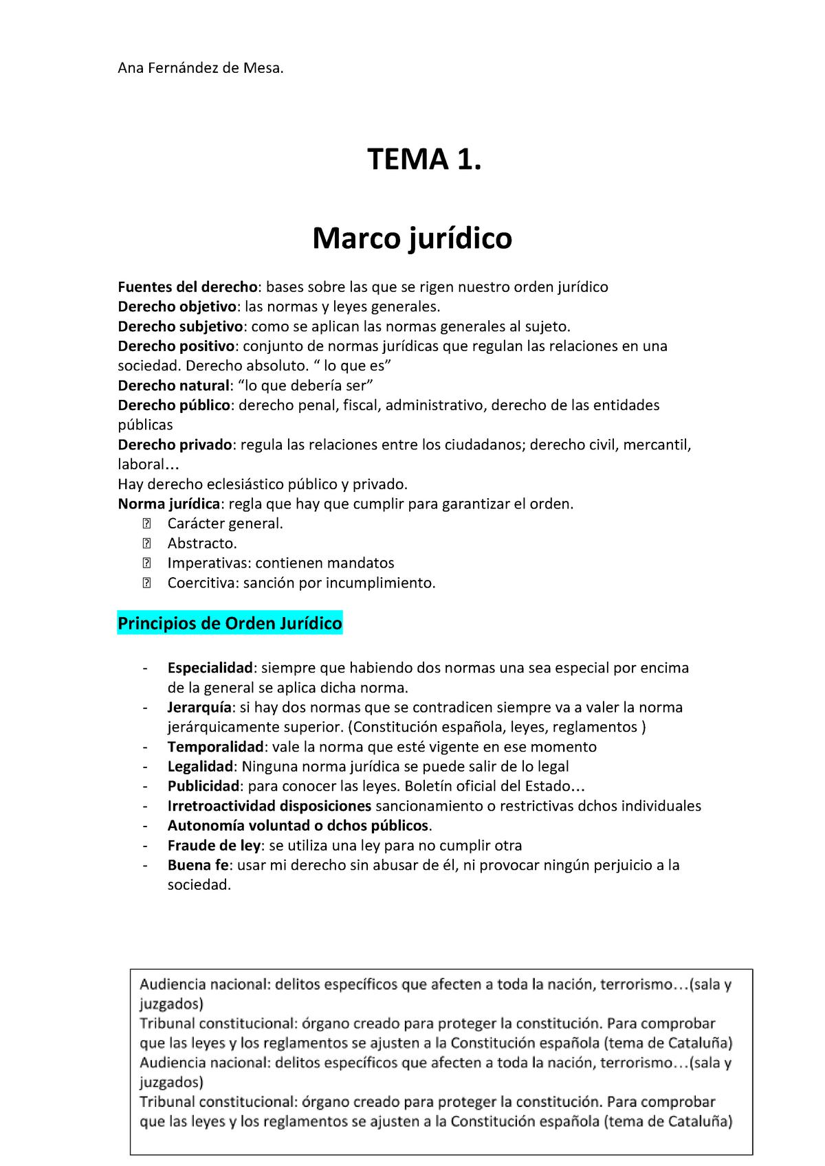 Marco Jurídico Apuntes 1 7 Comillas Studocu