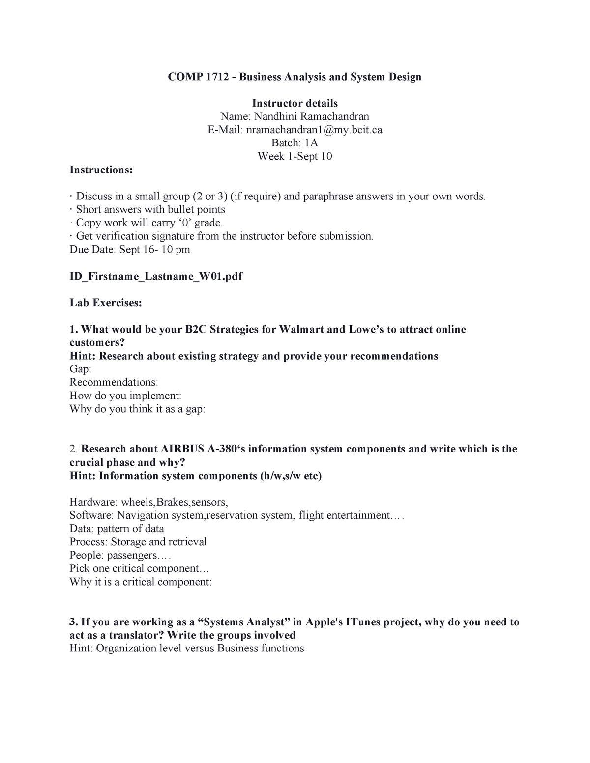 Lab 01 Nnnnnnn Comp 1011 Ux Ui Development Bcit Studocu