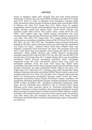 Abstrak Eko Quantity Surveying Bic Universiti Malaya Studocu