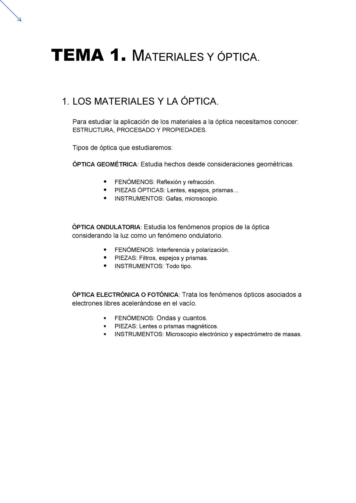 d948ca22bd Materiales OPTICOS - Materiales ópticos - StuDocu