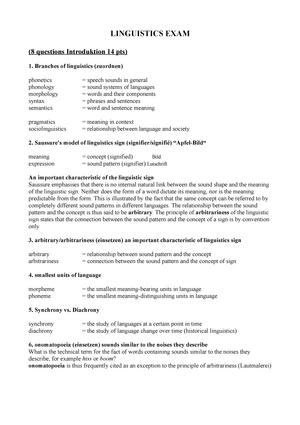 Exam 2018 - 0201101: Applied Linguistics - StuDocu