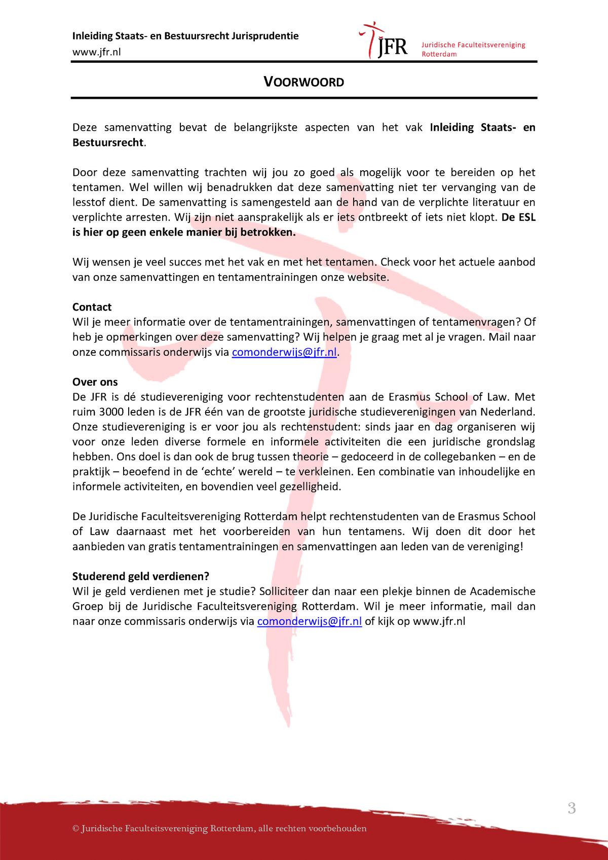 dd5b69cdd486f0 Arresten Inleiding staats- en bestuursrecht - Samenvatting alle arresten  jurisprudentiebundel - RR103  Inleiding staats- en bestuursrecht -  StudeerSnel.nl