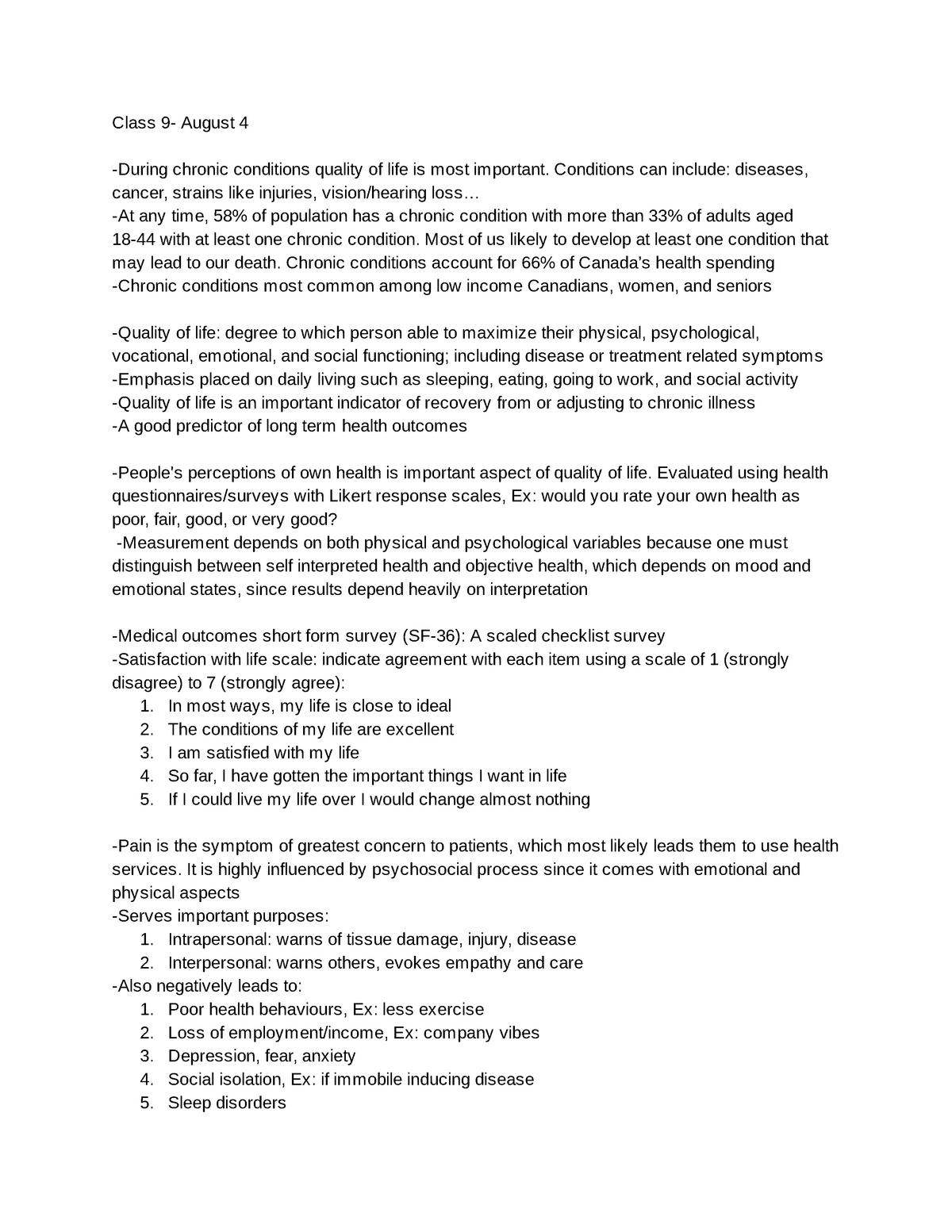 PSYC_314_Final_Exam - Health Psychology PSYC 314 - StuDocu