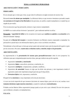 Fundamentos de la Publicidad - Fonaments de la Publicitat - StuDocu