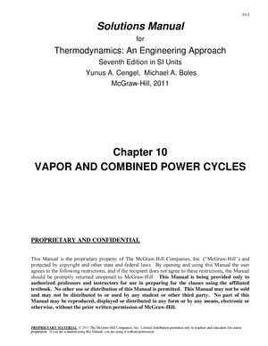 solution manual thermodynamics