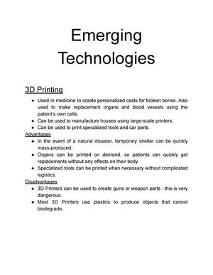 Information Technology (9626) - A Level Notes - - CAM - StuDocu