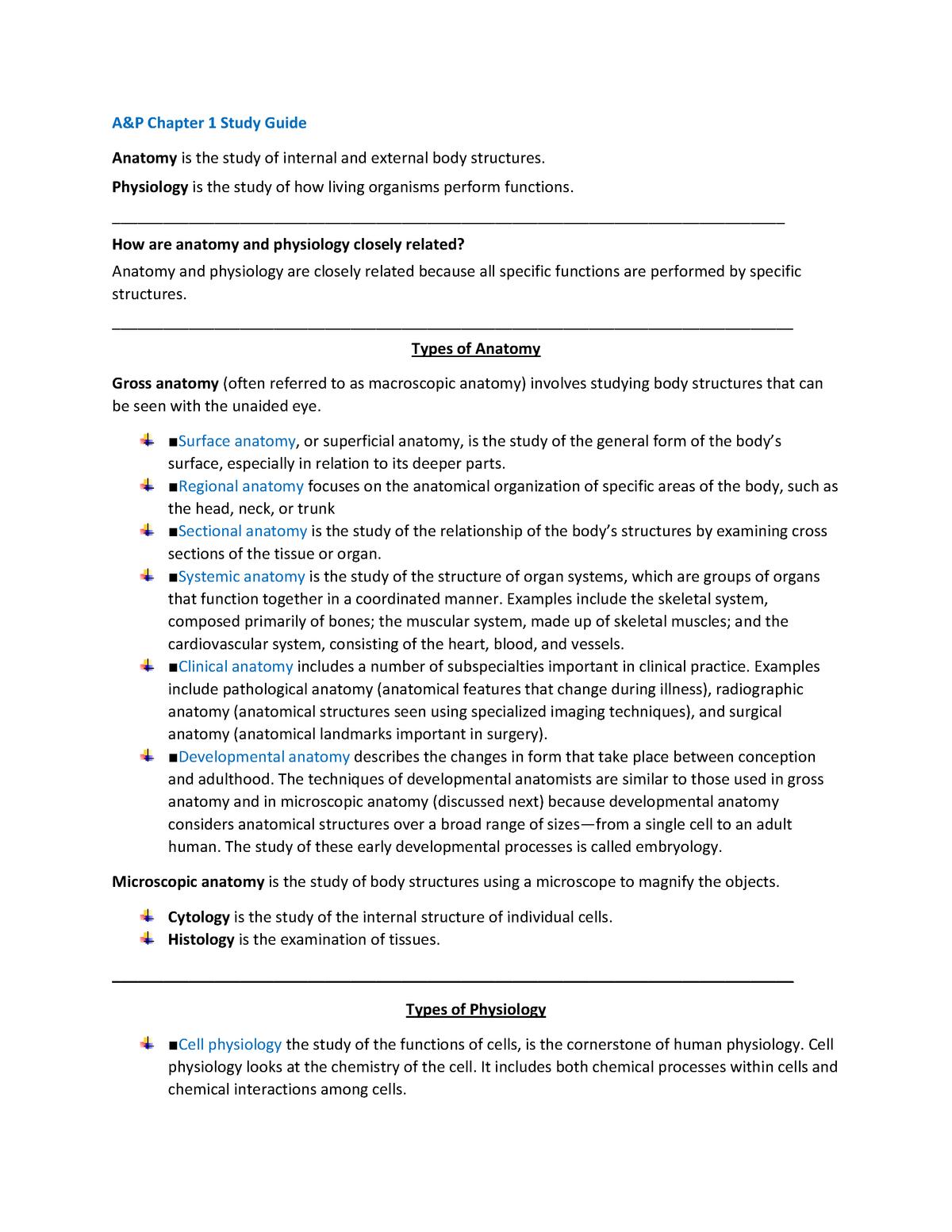 AP Exam 1 Study Guide - BIOL 114 - StuDocu