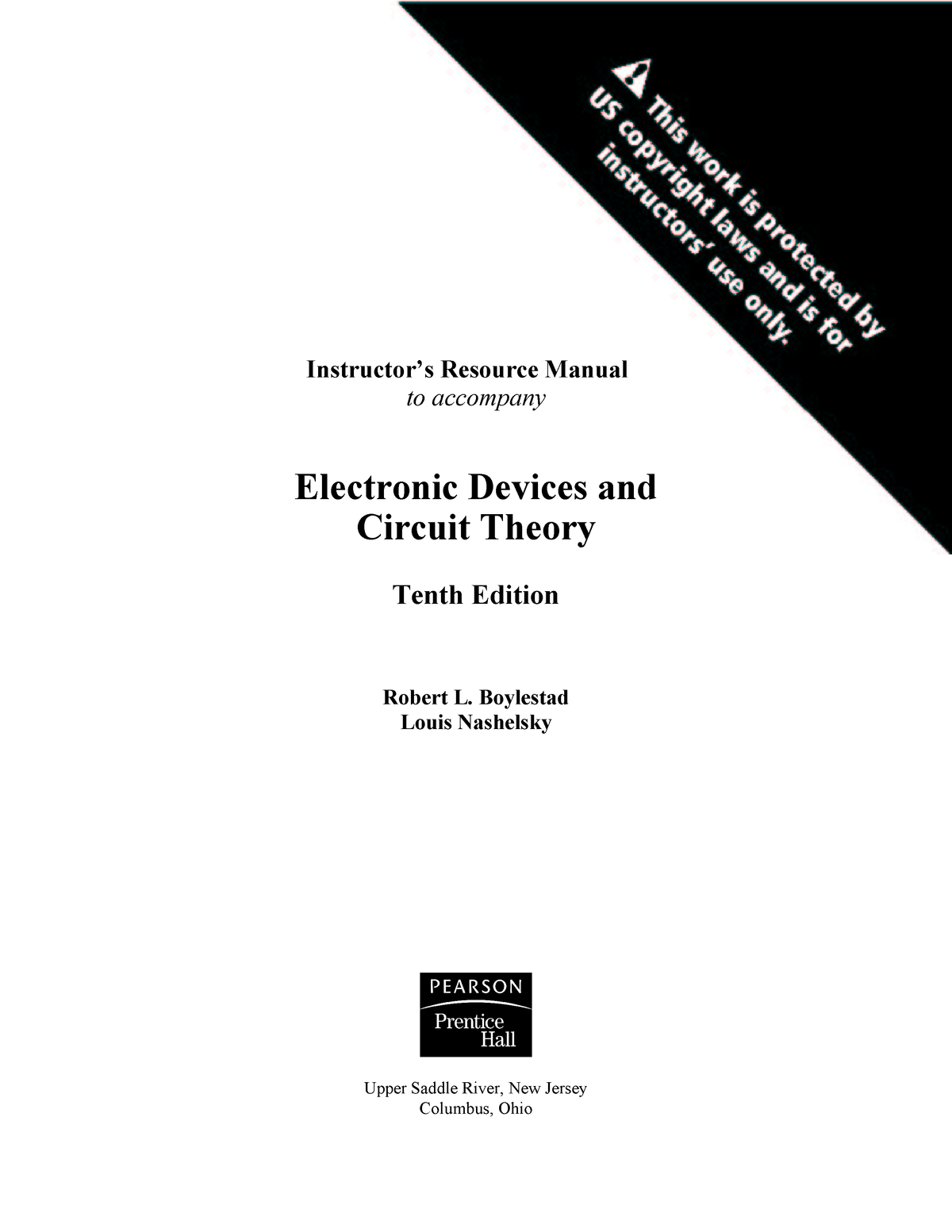 Pspice For Circuit Theory And Electronic Devices Ebook