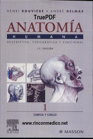 Anatomía Humana - Rouviere - TOMO1 - Anatomía - StuDocu