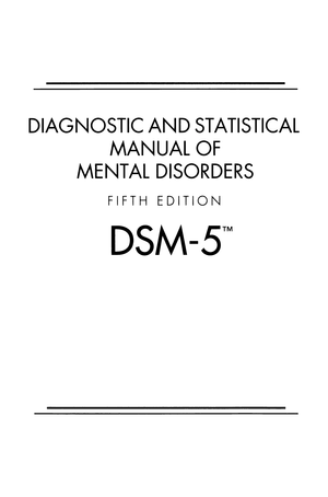 Interview Guide for Evaluation of Dsm-V Disorders