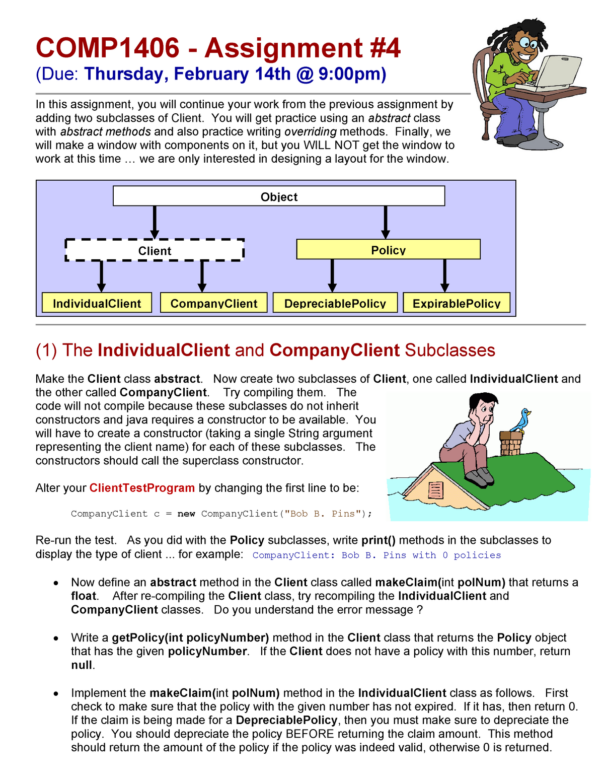 Mandatory Assignment 04 - Comp 1006: Introduction to