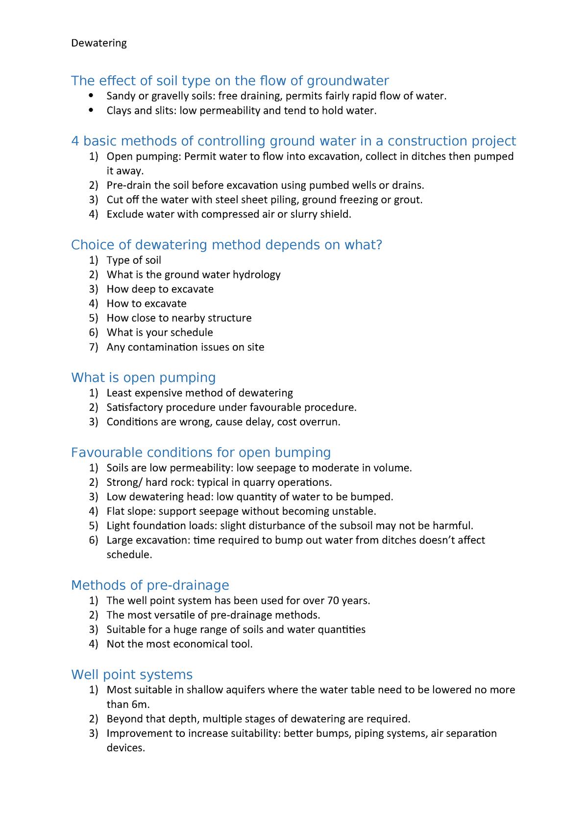 Summary CVEN2101 CVEN2101 25 Apr 2018 - StuDocu