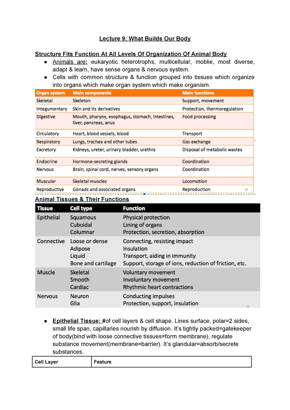 BISC 101 Notes-2 - ivona - Bisc 101: General Biology - StuDocu