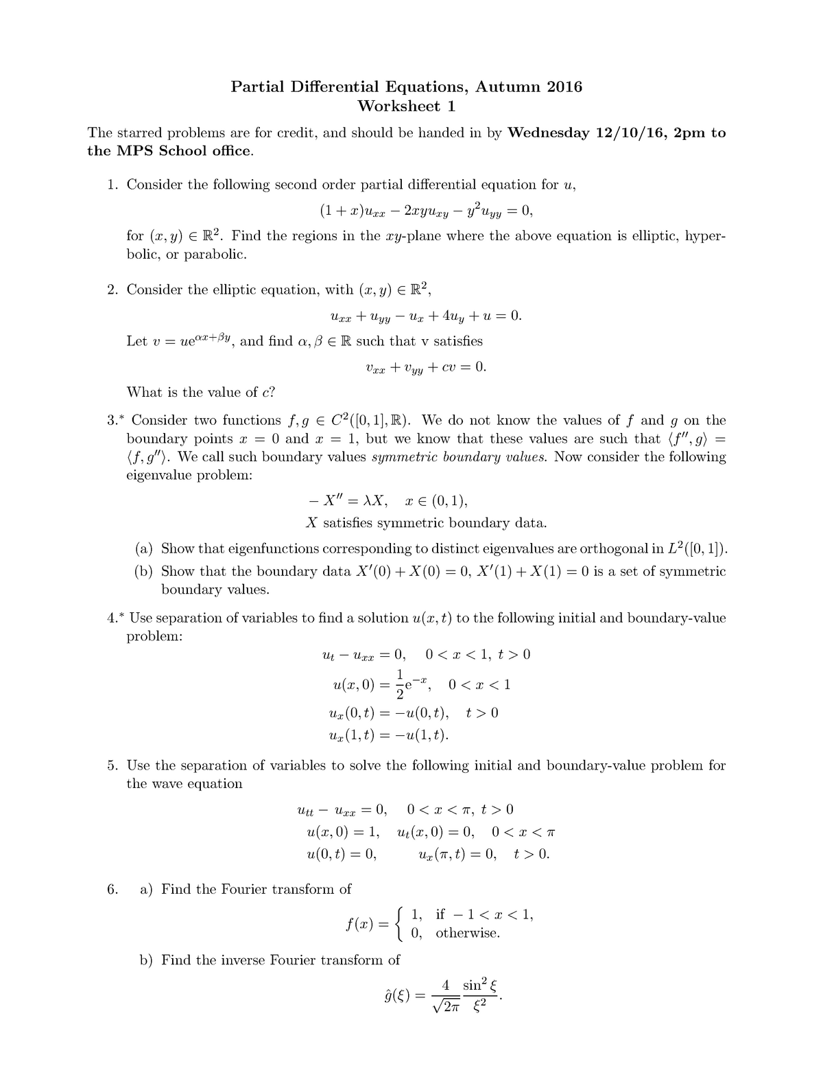 Solving Partial Differential Equations