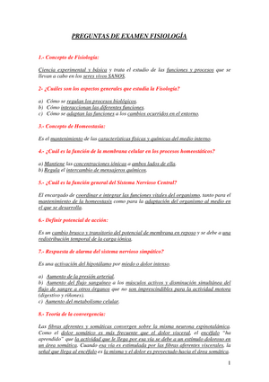 Examen 2013 - 10011002: Fisiología humana y procesos ...