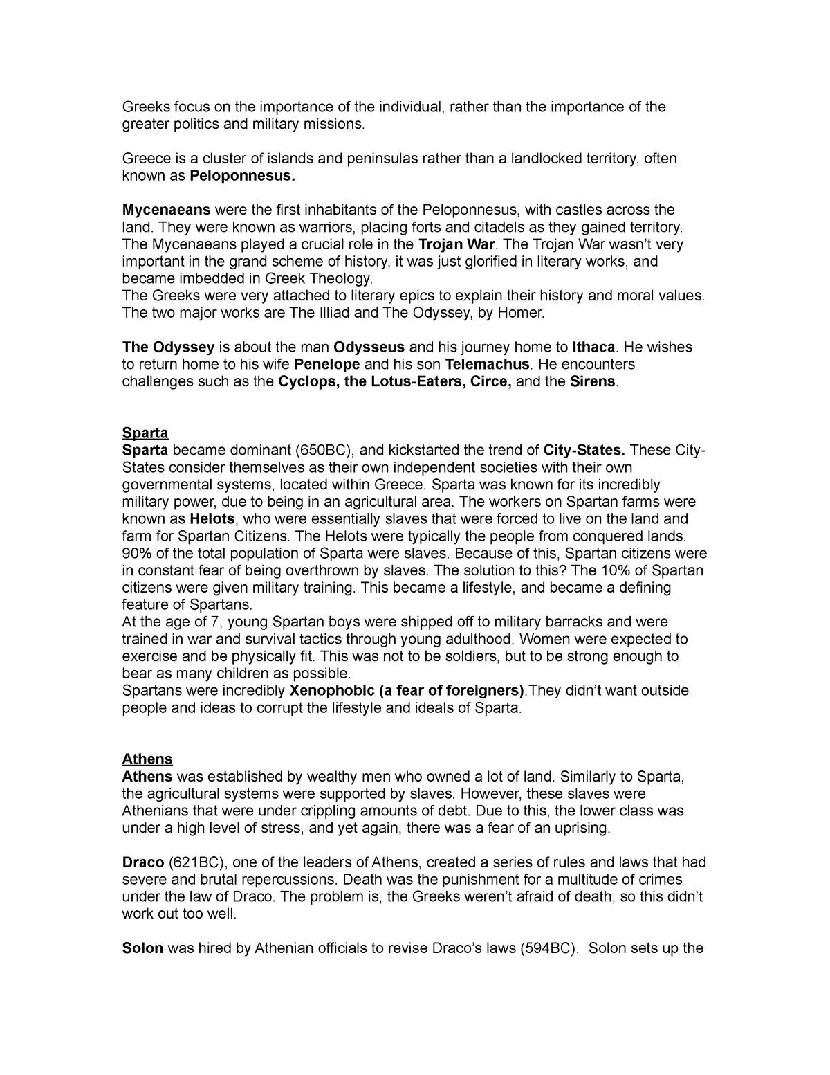 Greek Civilization - Heather Stur - HIS 101 : World
