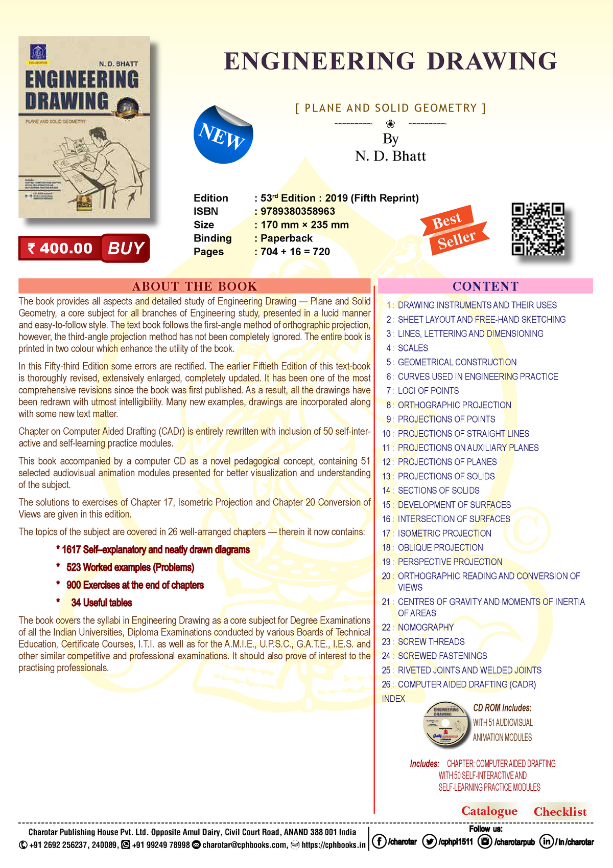 Engineering Drawing Lecture notes 1 3 ES16 StuDocu