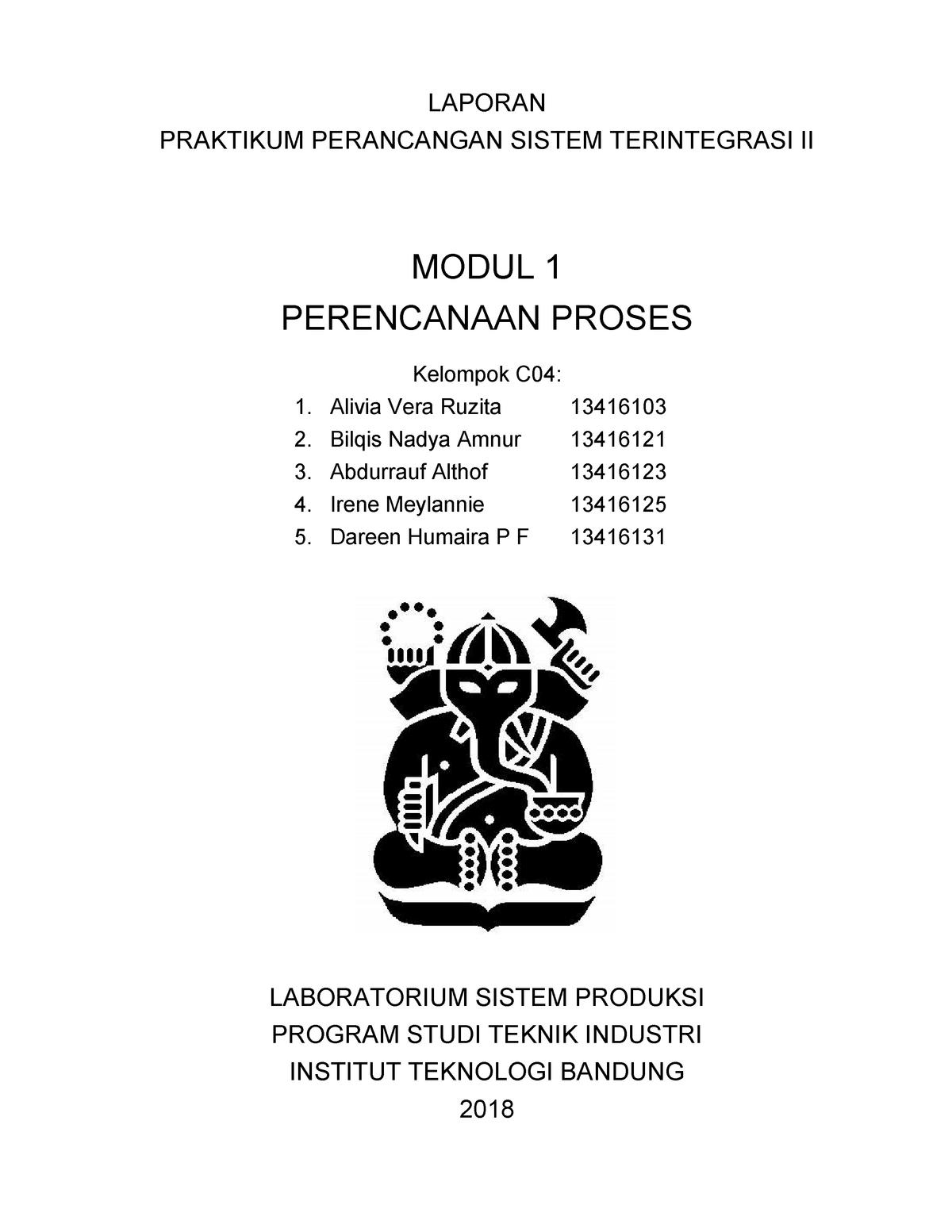 Laporan Modul 1 Ppst 2 Kelompok C04 Studocu